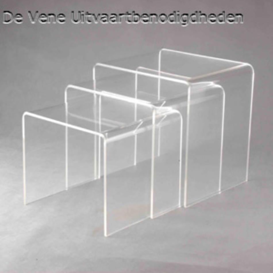 Plexiglas tafelset